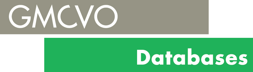logo for GMCVO Databases