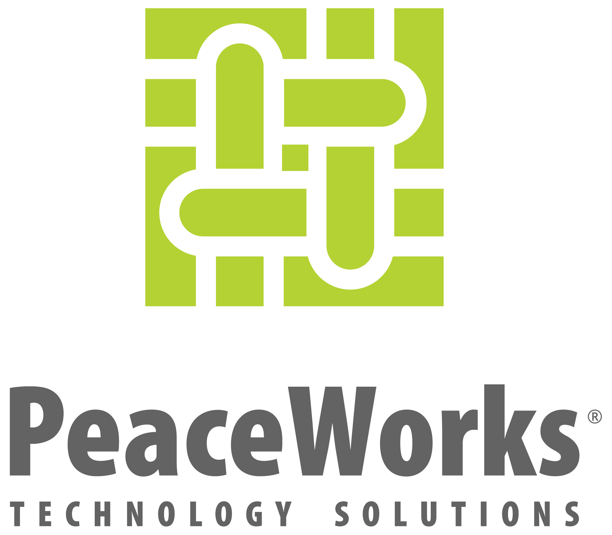 logo for PeaceWorks Technology Solutions
