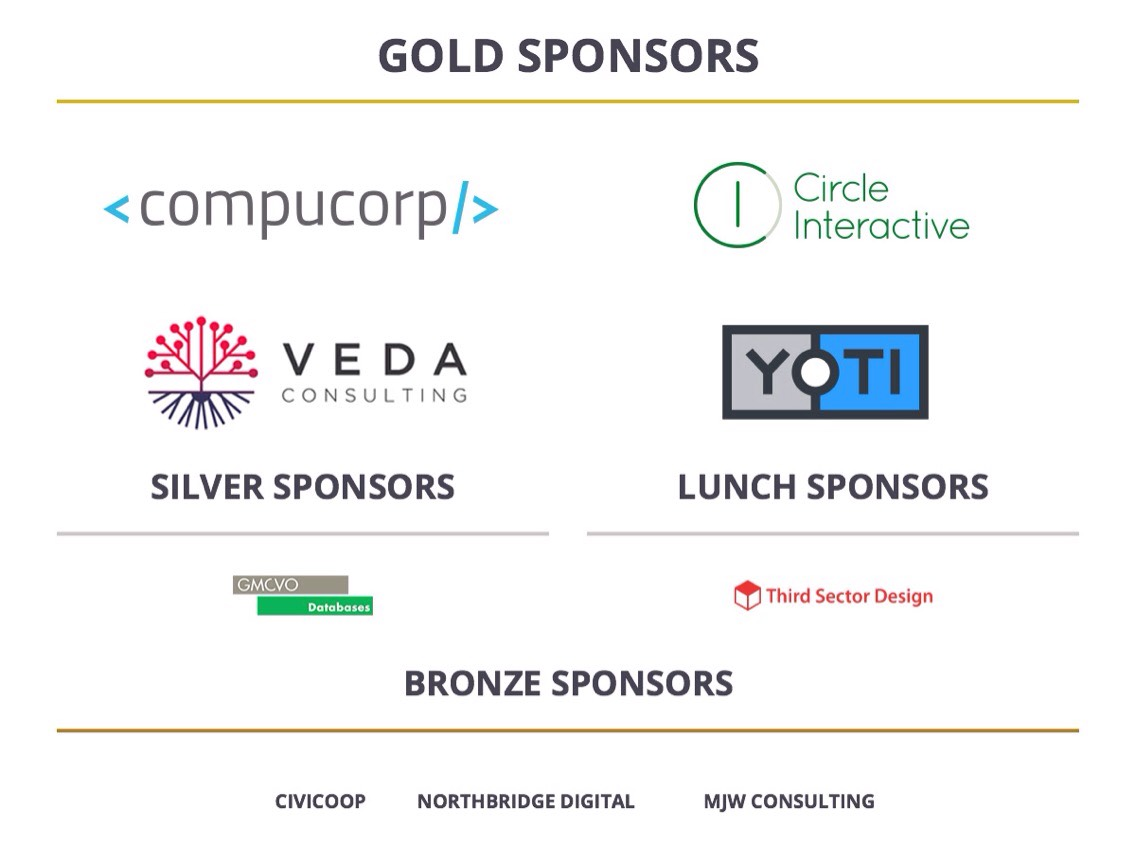 CiviCON sponsorts