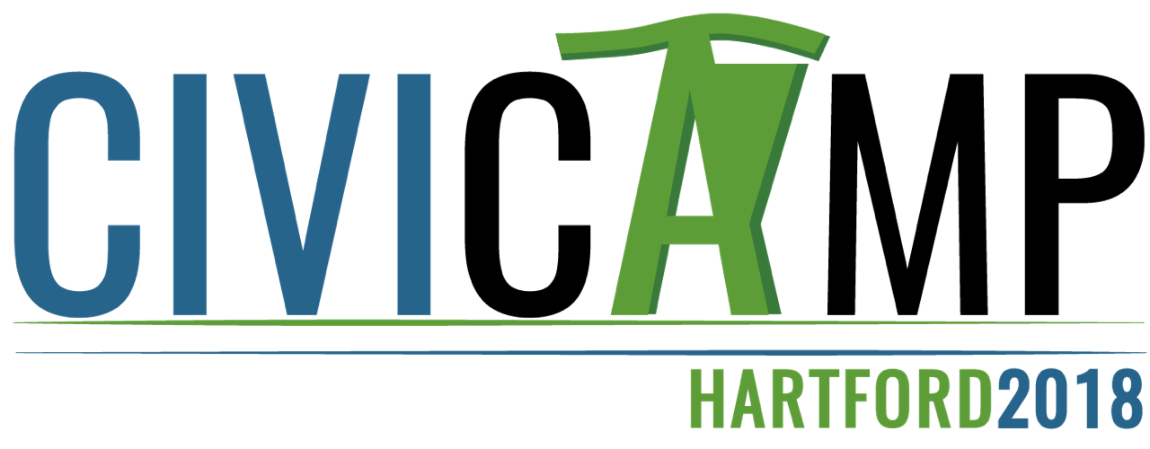 CiviCamp Hartford 2018 logo