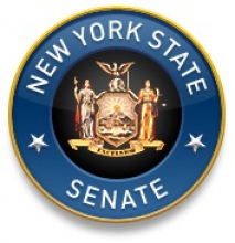 New York State Senate's Bluebird logo