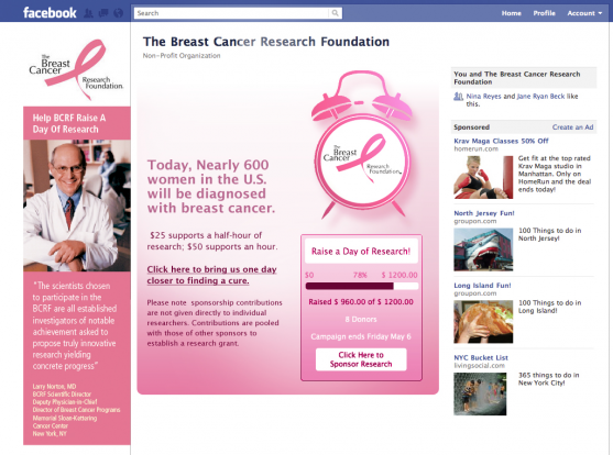 BCRF Raise a day of Campaign