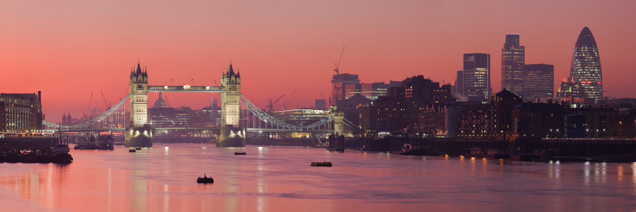 London Thames Sunset