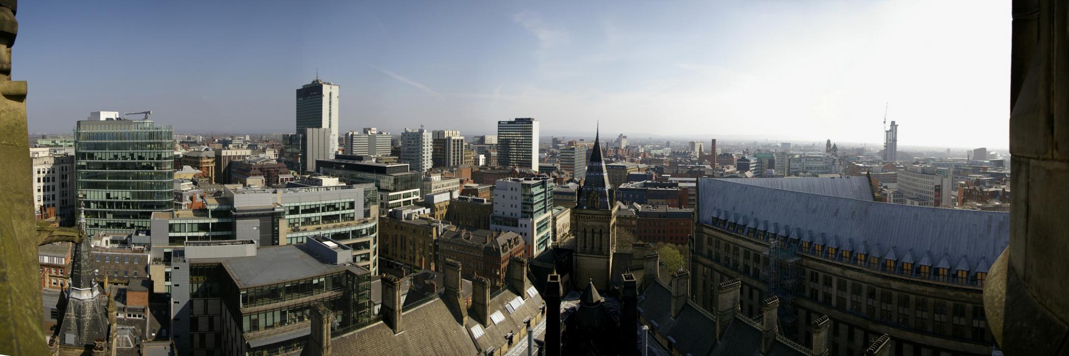 Manchester Skyline photo